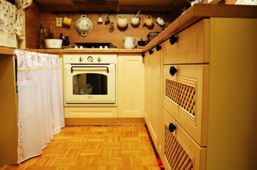 Vintage kuchynská linka - 3